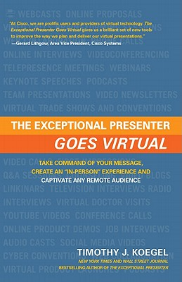 The Exceptional Presenter Goes Virtual By Koegel, Timothy J.